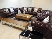 Turkish Leather Cushion Chair By 7 Seaters   Furniture for sale in Lagos State