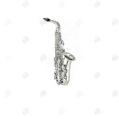 Yamaha Quality Alto Saxophone Silver | Musical Instruments & Gear for sale in Ojo, Lagos State, Nigeria