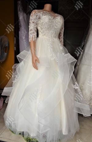 Cream Wedding Gown   Wedding Wear & Accessories for sale in Lagos State, Magodo