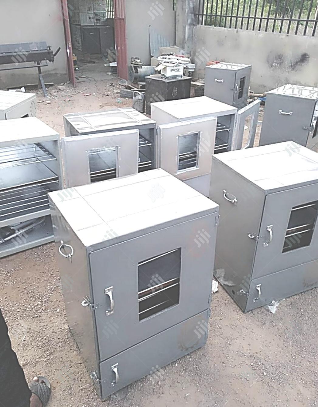 Easytech Enterprise Charcoal And Gas Oven