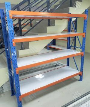 Long Span Metal Shelving Rack 2x2metre | Store Equipment for sale in Lagos State, Ojo
