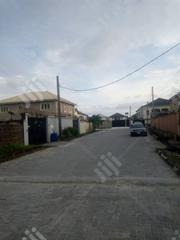 Half Plot of Fenced Land for Sale at Ocean Palm Estate Sangotedo | Land & Plots For Sale for sale in Lagos State, Ajah