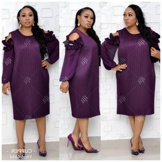 Ladies Formal Dress in Purple