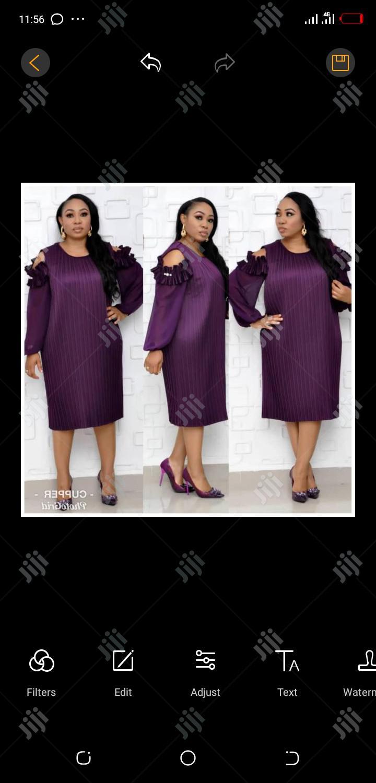 Ladies Formal Dress in Purple | Clothing for sale in Lagos Island (Eko), Lagos State, Nigeria