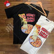 Moschino Love Pizza Tees | Clothing for sale in Lagos State, Ojo