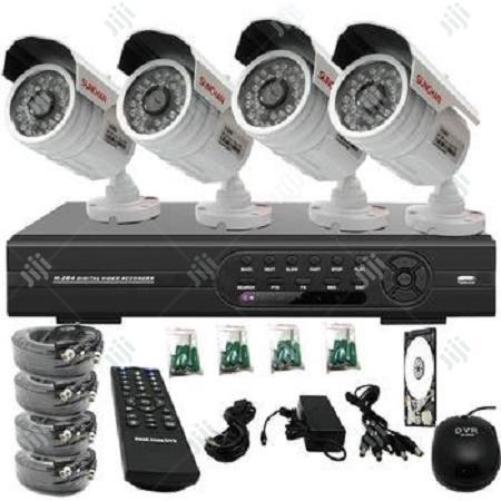 4 Channel CCTV Security Surveillance System