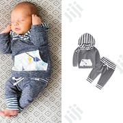 Baby Boy Hoodie 2pc Set   Children's Clothing for sale in Ondo State, Akure
