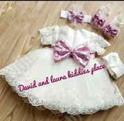 Pugi Baby Christening/ Dedication Dress | Children's Clothing for sale in Lagos State, Amuwo-Odofin