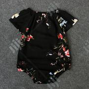 Floral Bodysuit Onesie for Baby Girl   Children's Clothing for sale in Ondo State, Akure