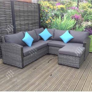 Lovely And Durable Garden Rattan Sofa Set | Landscaping & Gardening Services for sale in Rivers State, Port-Harcourt