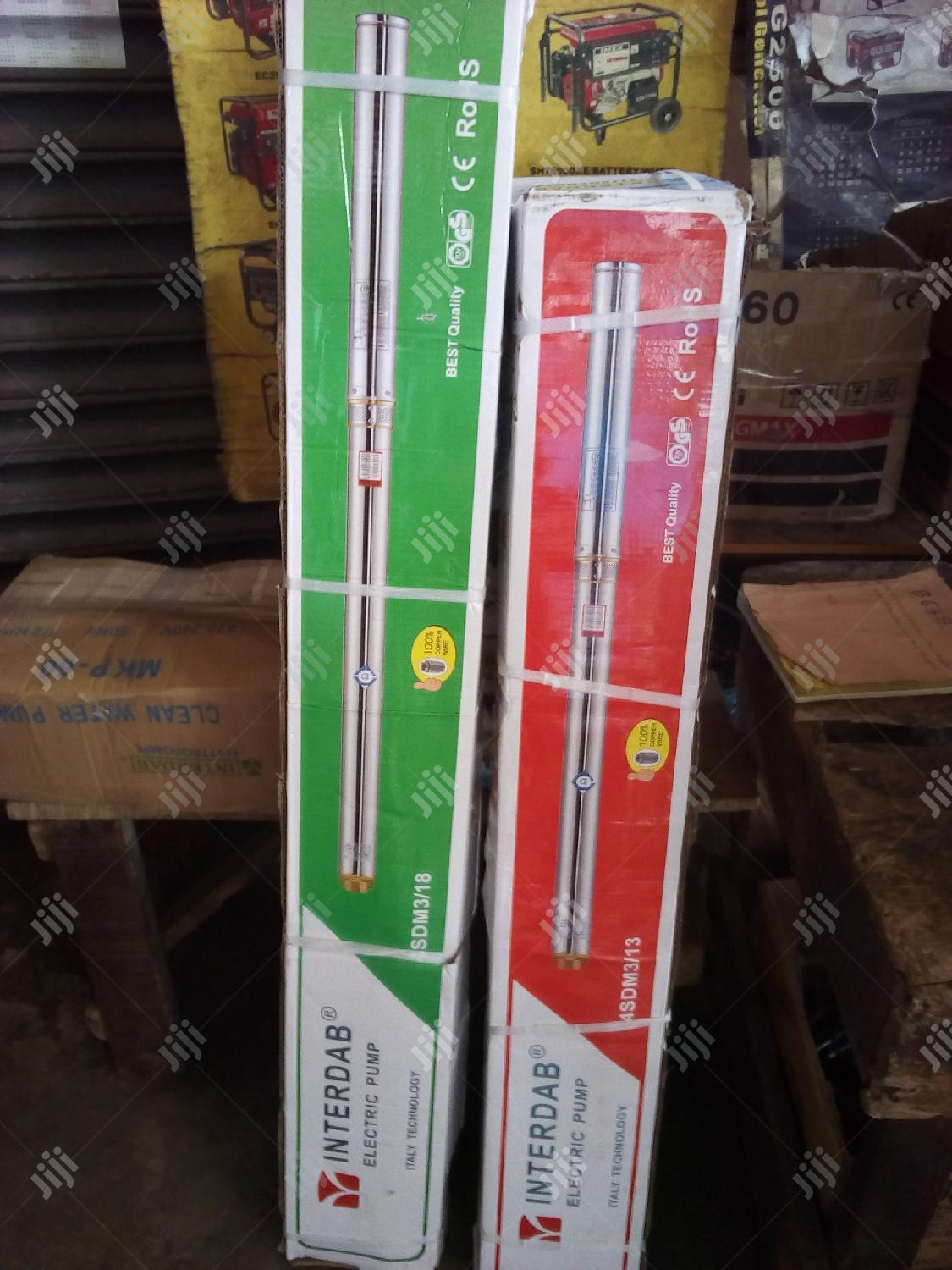 This Is 1.5hp Submersible Pump Interdab Products. | Plumbing & Water Supply for sale in Ojo, Lagos State, Nigeria