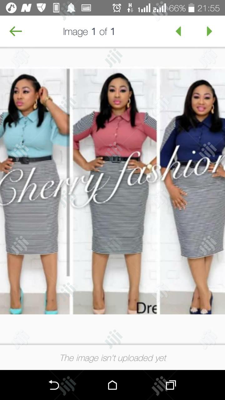 Cherry Female New Gown | Clothing for sale in Lagos Island (Eko), Lagos State, Nigeria