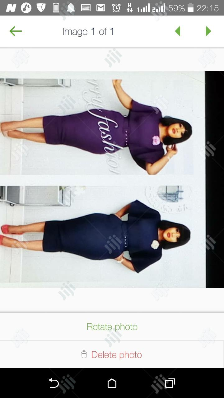 Cherry Female Fitted Gown   Clothing for sale in Ikeja, Lagos State, Nigeria
