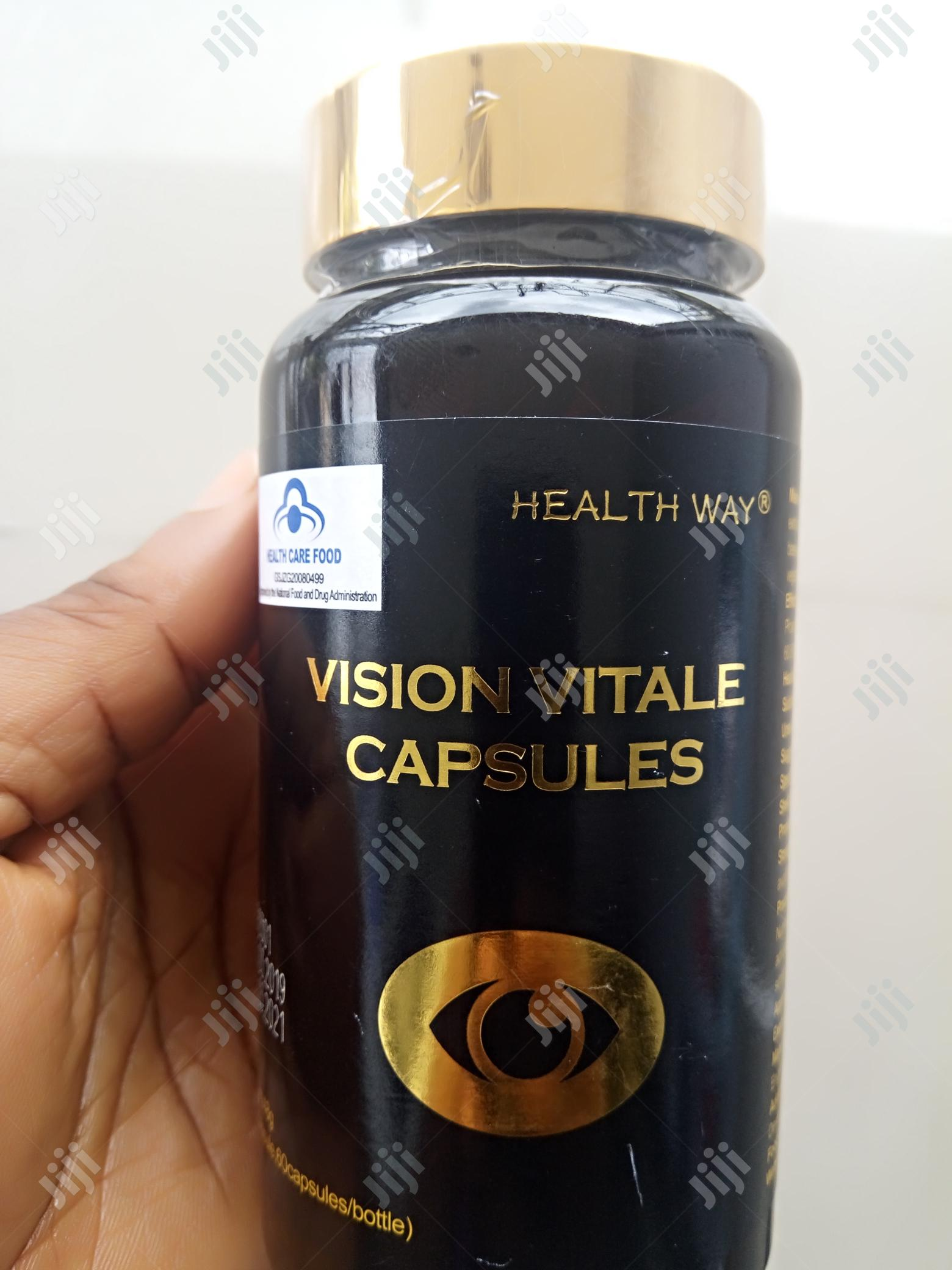 100% Approved Cure for Glaucoma, Catarracts, Myopia Is Vision Vitales | Vitamins & Supplements for sale in Central Business Dis, Abuja (FCT) State, Nigeria