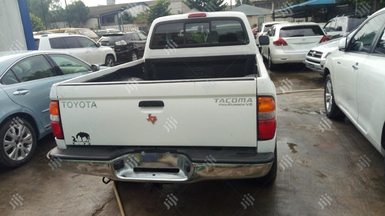 Toyota Tacoma 2004 White | Cars for sale in Ikeja, Lagos State, Nigeria