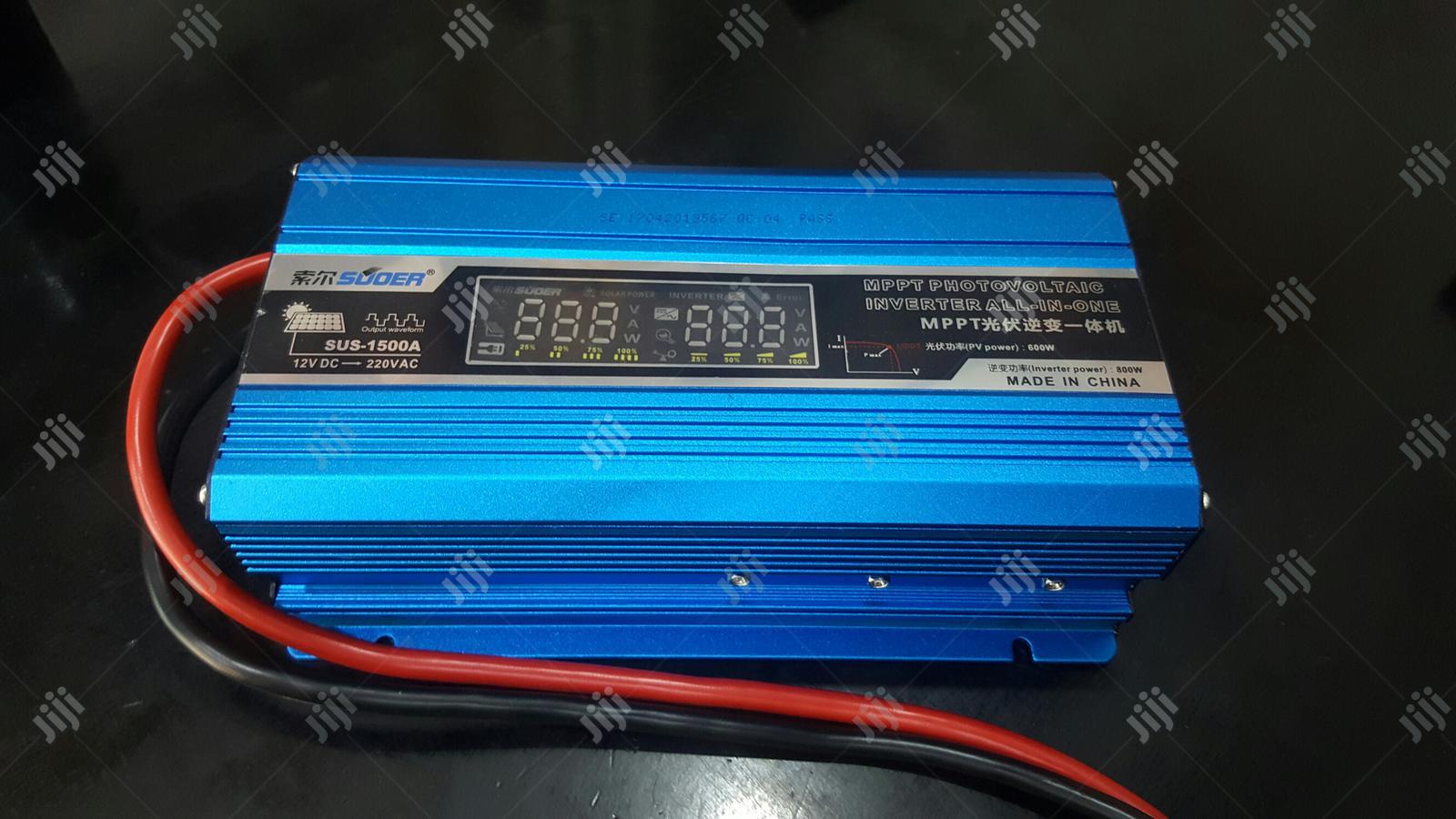 1500va Suoer Mppt Hybrid Inverter