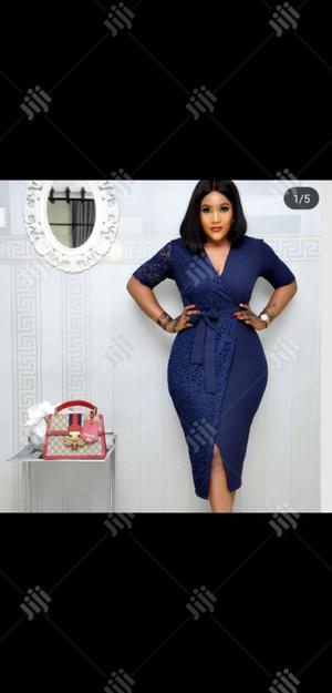 Ladies Formal Mini Dress in Blue | Clothing for sale in Lagos State, Lagos Island (Eko)