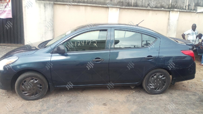 Nissan Versa 2015 Gray   Cars for sale in Ikeja, Lagos State, Nigeria