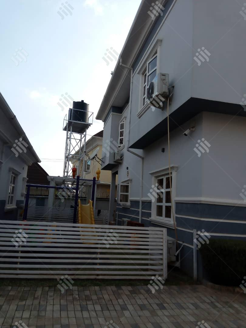 Lovely 5 Bedroom Fully Detached Duplex & 2 Rooms Bq For Sale | Houses & Apartments For Sale for sale in Gwarinpa, Abuja (FCT) State, Nigeria