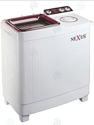 Nexus 9.2kg Semi Automatic Washing Machine CV- NX-WM-9SASB - Red | Home Appliances for sale in Lagos State, Ojo