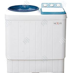 Nexus 7kg Semi Automatic Washing Machine NX-WM-7SABI (Blue CV) | Home Appliances for sale in Lagos State, Ojo