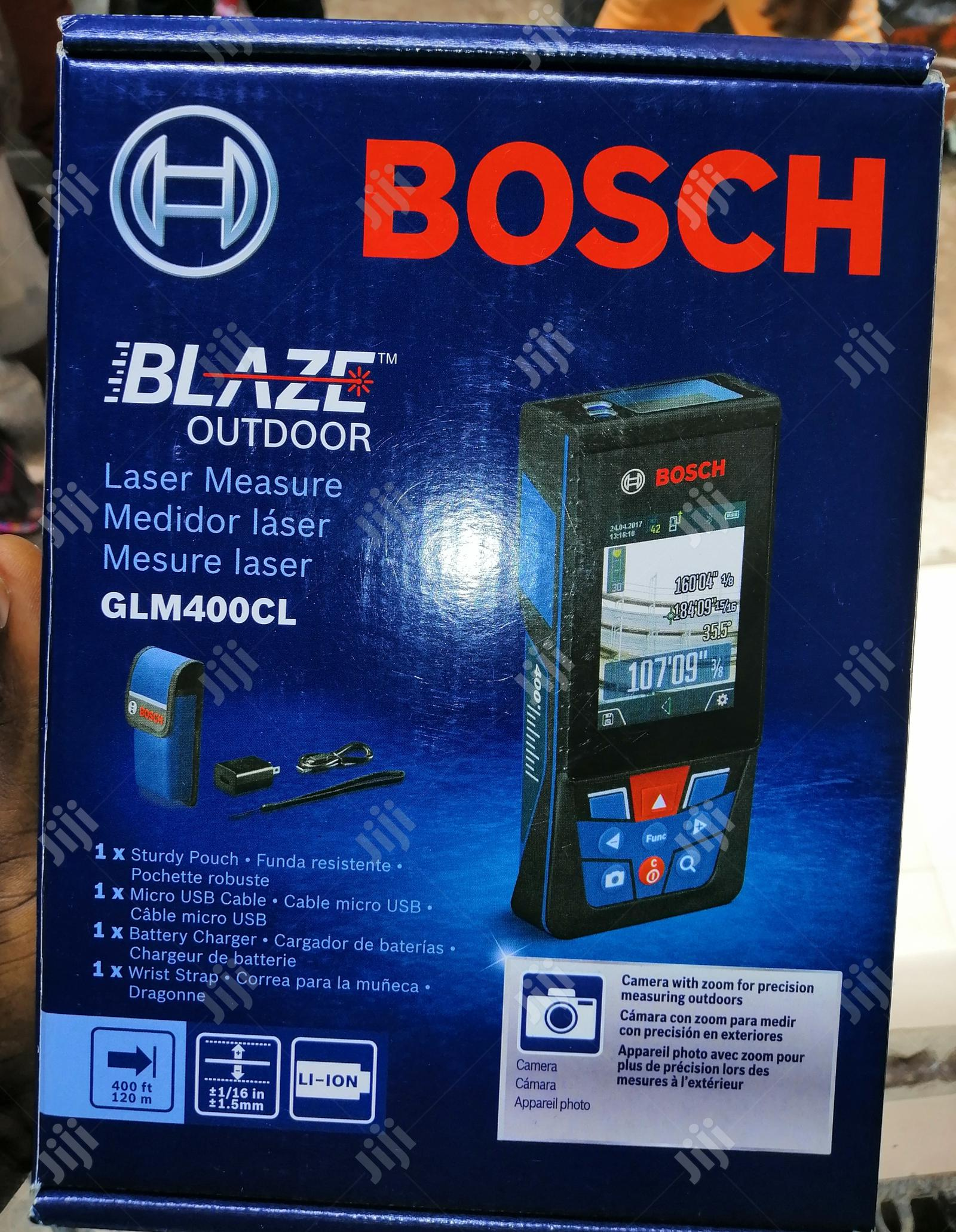 Bosch GLM400CL Distance Meter 120M 400ft | Measuring & Layout Tools for sale in Amuwo-Odofin, Lagos State, Nigeria
