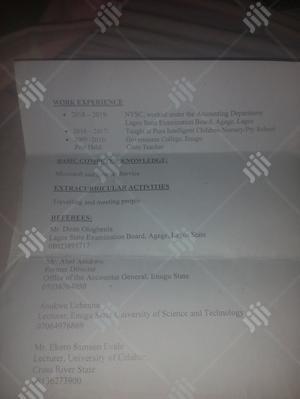Housekeeping & Cleaning CV | Housekeeping & Cleaning CVs for sale in Enugu State, Awgu