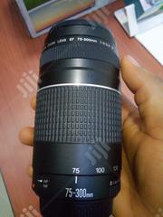 Canon EF 75-300mm F/4-5.6 III Telephoto Zoom Lens | Accessories & Supplies for Electronics for sale in Lagos State, Ojo