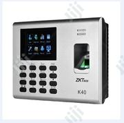 K40 Built-In Battery/ Fingerprint / Card/ Attendance/ Access Control | Computer Accessories  for sale in Lagos State, Agege