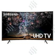 Samsung 55 Inch UHD RU7300 Ultra Slim Curved 2019 Smart TV | TV & DVD Equipment for sale in Rivers State, Port-Harcourt