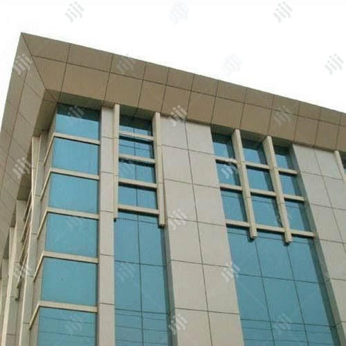 Quality Outside Wall Cladding With Aluminium Composite Panel | Building & Trades Services for sale in Asokoro, Abuja (FCT) State, Nigeria