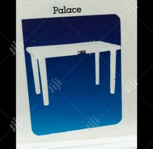 White Durable Plastic Tables And Chairs Available   Furniture for sale in Lagos State