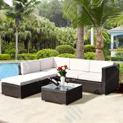 Grand Rattan Modular Garden Sofa Set W/ Cushion - For Easy Living. | Manufacturing Services for sale in Lagos State, Ikeja