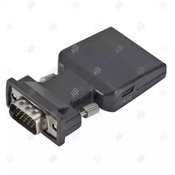 Vga to Hdmi With Audio Converter | Accessories & Supplies for Electronics for sale in Ikeja, Lagos State, Nigeria