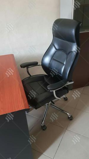 Quality Black Office Leather Chair   Furniture for sale in Lagos State