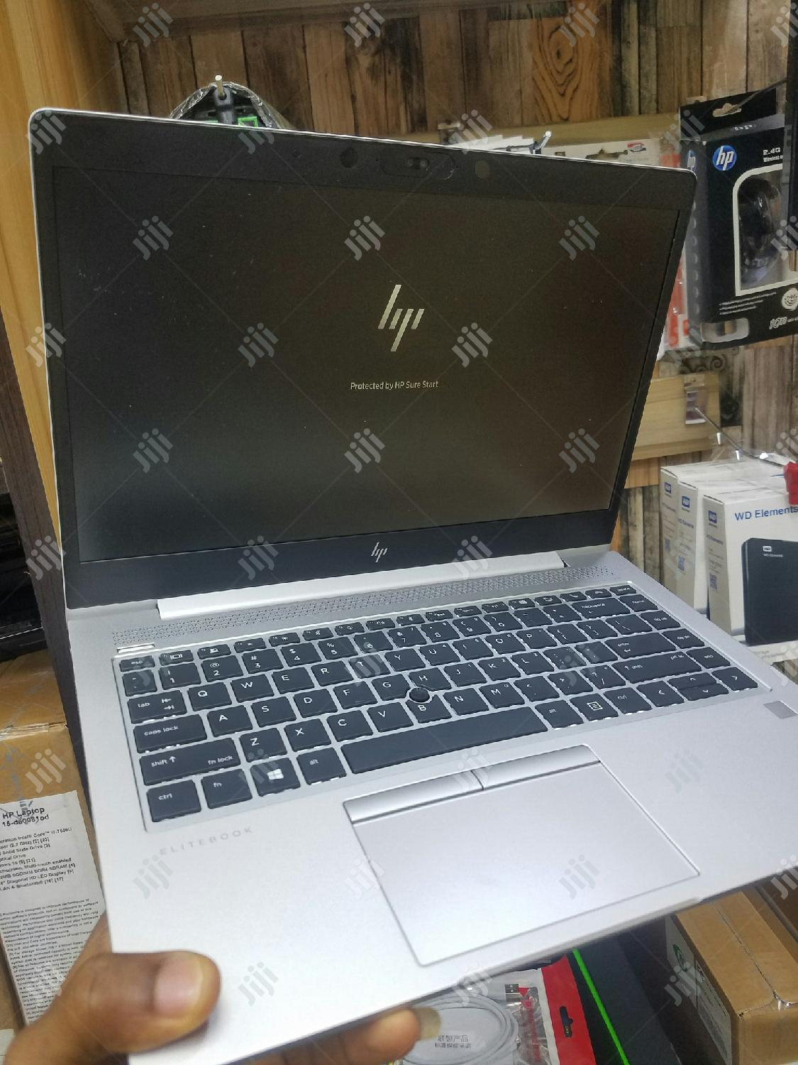 Laptop HP EliteBook 840 G5 8GB Intel Core i7 SSD 256GB | Laptops & Computers for sale in Ikeja, Lagos State, Nigeria