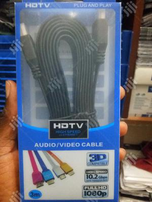 Hdmi to Hdmi Cable 3m | Accessories & Supplies for Electronics for sale in Lagos State, Ikeja
