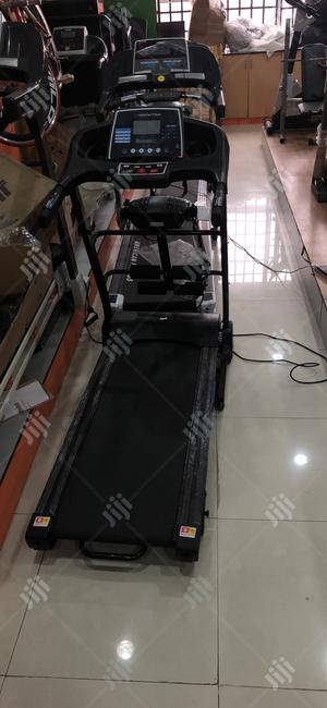 2hp Treadmill With Massager   Sports Equipment for sale in Lagos State, Ojodu