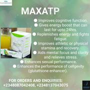 Maxatp- Energy at Its Peak! | Vitamins & Supplements for sale in Akwa Ibom State, Uyo