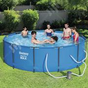 Bestway Steel Pro Max 12' X 39.5 Above Ground Swimming Pool | Sports Equipment for sale in Lagos State, Ikeja