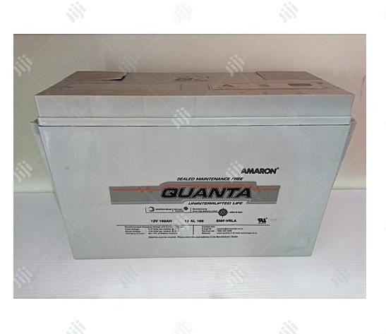 Quanta Amaron Battery12v- 200ah   Solar Energy for sale in Gwarinpa, Abuja (FCT) State, Nigeria