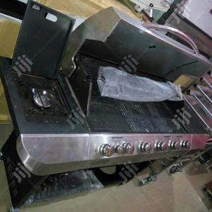 New Barbecue Grill Machine 4 Burner   Restaurant & Catering Equipment for sale in Imo State, Orlu
