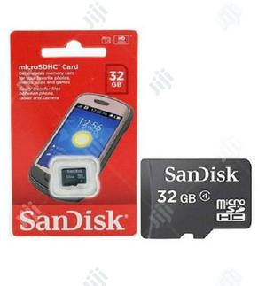 Sandisk 32GB Micro SDHC Memory Card   Accessories for Mobile Phones & Tablets for sale in Lagos State, Ikeja