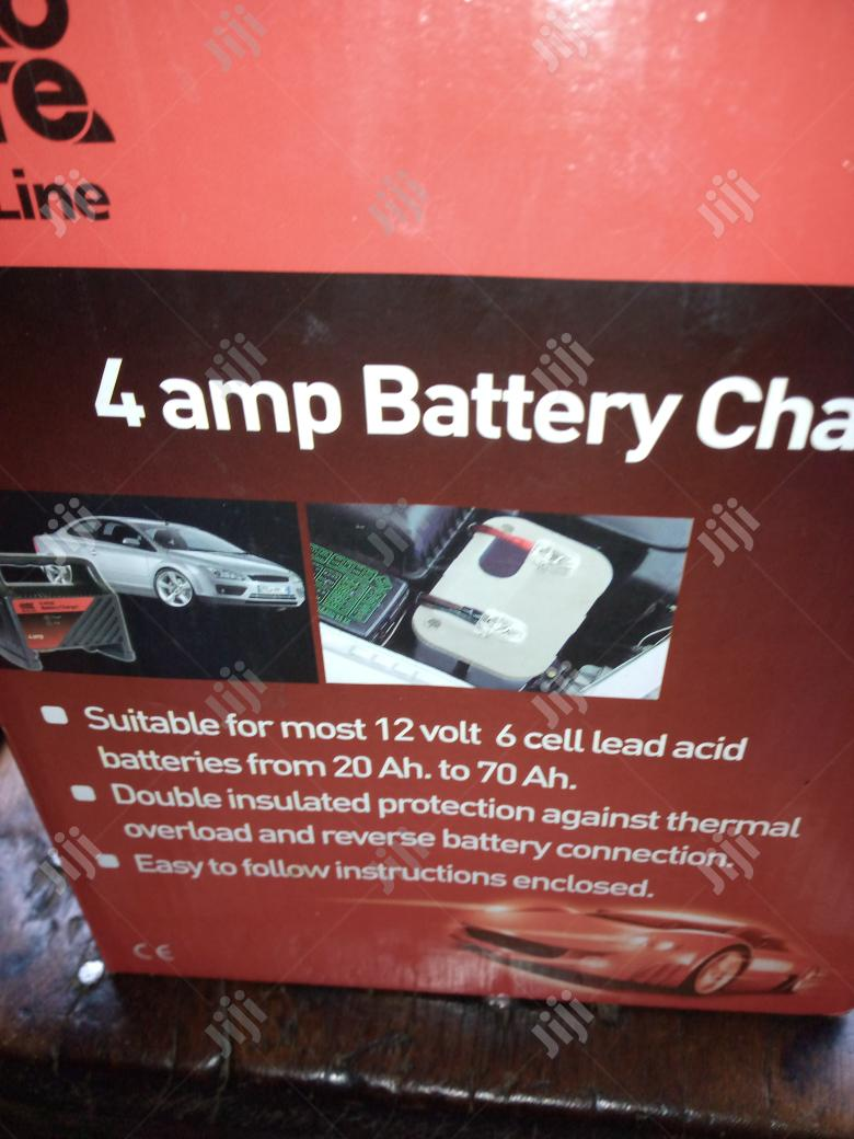 4 Amp Car Battery Charger | Vehicle Parts & Accessories for sale in Lagos State, Nigeria
