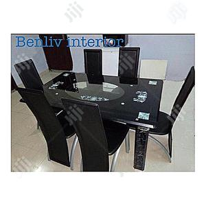 Quality Strong Glass Dining Table | Furniture for sale in Imo State, Orlu