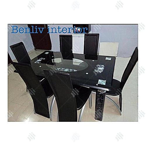 Quality Strong Glass Dining Table