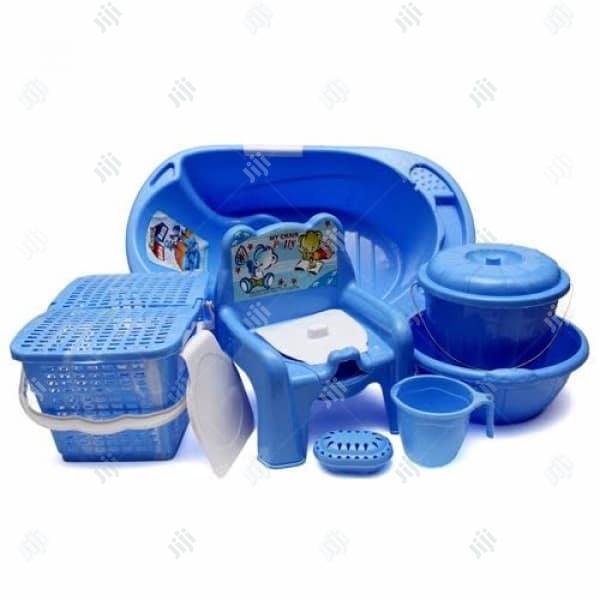 Baby Bath Set - 7 Pcs