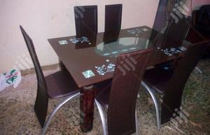 Quality Strong Glass Dining Table | Furniture for sale in Edo State, Irrua