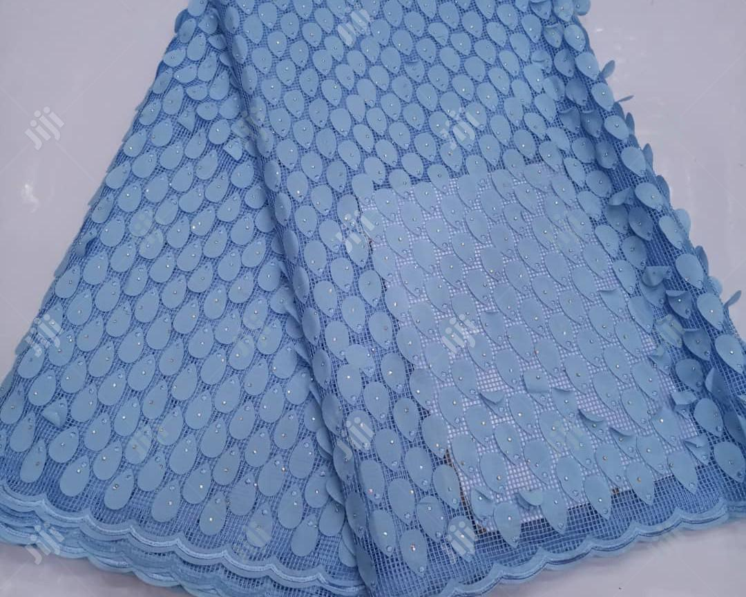 Quality Lace Fabric Pink | Clothing for sale in Lagos Island (Eko), Lagos State, Nigeria
