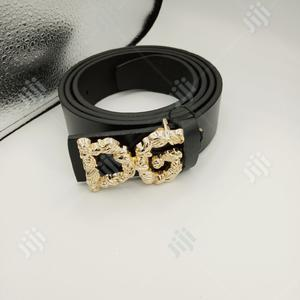 Dolce & Gabbana Leather Belt Original 0048 | Clothing Accessories for sale in Lagos State, Surulere